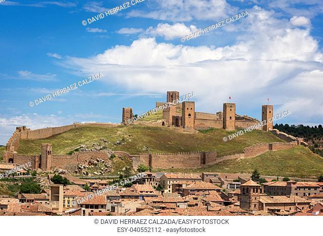 Castle of Molina de Aragon, Guadalajara, Spain