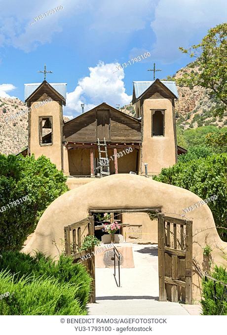 El Santuario de Nuestro Señor de Esquipulas or El Santuario de Chimayo, New Mexico, USA