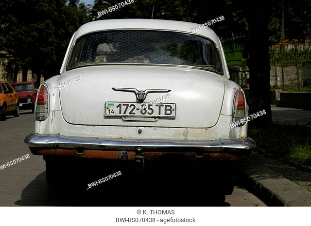 Lviv, old car, Ukraine, Western Ukraine, Lviv