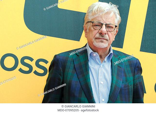 Italian actor and director Giancarlo Giannini attends the Sky TV series Catch-22 photocall. Rome (Italy), May 13th, 2019