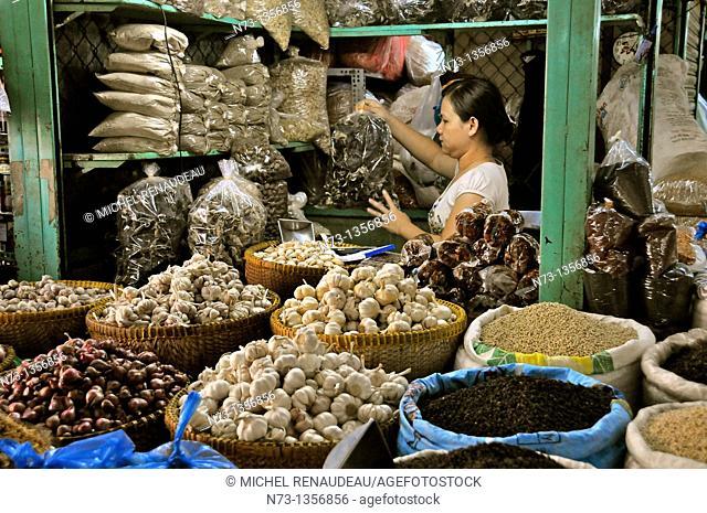 Vietnam, Saigon Ho Chi Minh City, Cholon Market