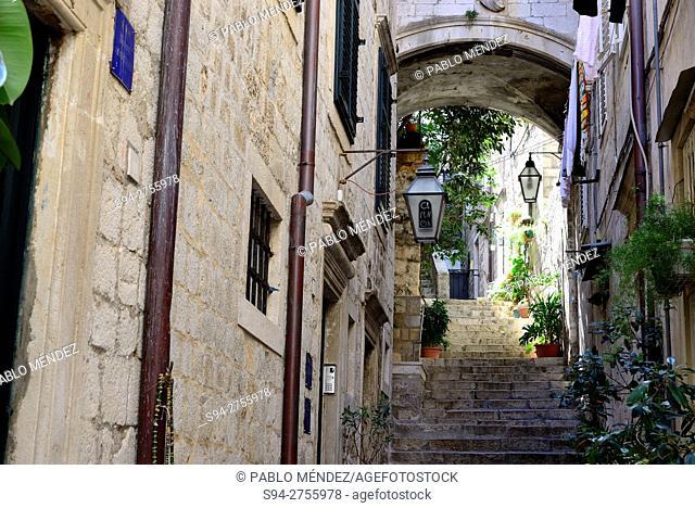 """Old Town """"""""Stari Grad"""""""". Dubrovnik, Croatia"""