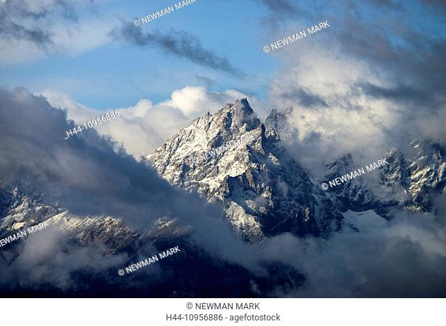Grand Teton, national park, Wyoming, USA, United States, America, mountain