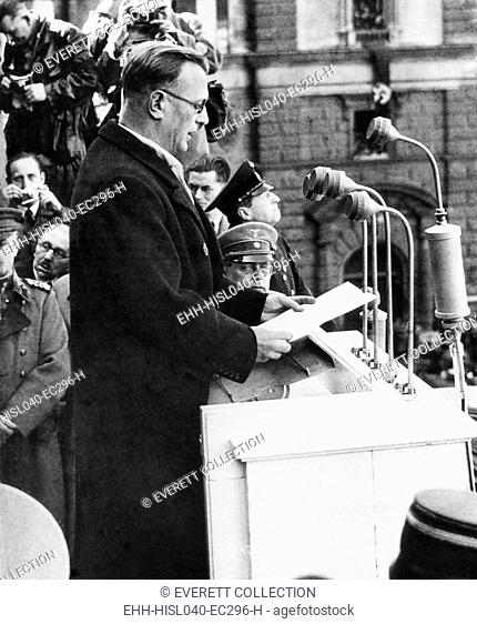 Arthur Seyss-Inquart was Chancellor of Austria for two days before the German annexation of Austria. The Austria Nazi politician became a minister in Hitler's...