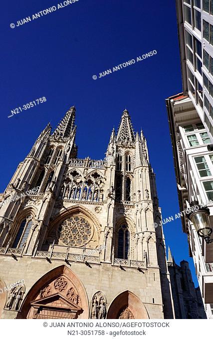 Santa Iglesia Catedral Basílica Metropolitana de Santa María. .Burgos, Castilla y León, Spain