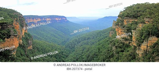 Panorama, Blue Mountains, New South Wales, Australia