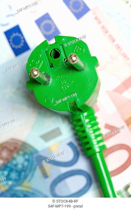 Plug on euro notes, Germany