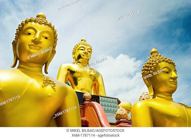 Golden Buddha statue  Golden Triangle  Chiang Rai province, Thailand