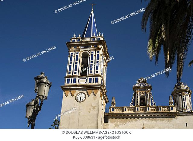 NUESTRA SEÑORA DE LA O Church in Chipiona, Cadiz province, Andalucia, Spain