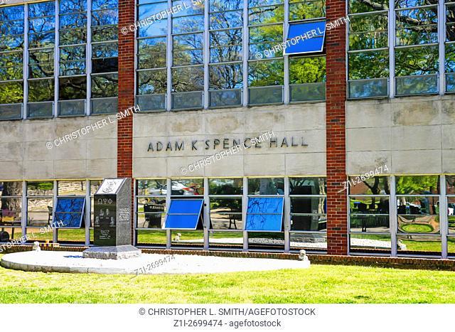 The Adam C. Spencer Hall building on Fisk University campus in Nashville TN