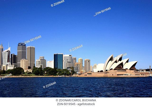 Sydney Skyline and Opera House