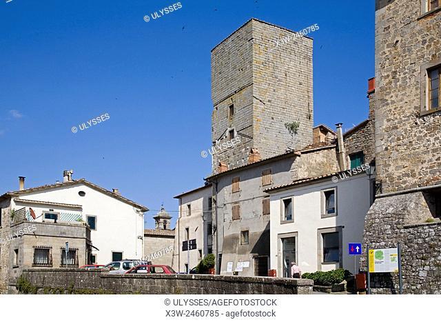 europe, italy, tuscany, santa fiora