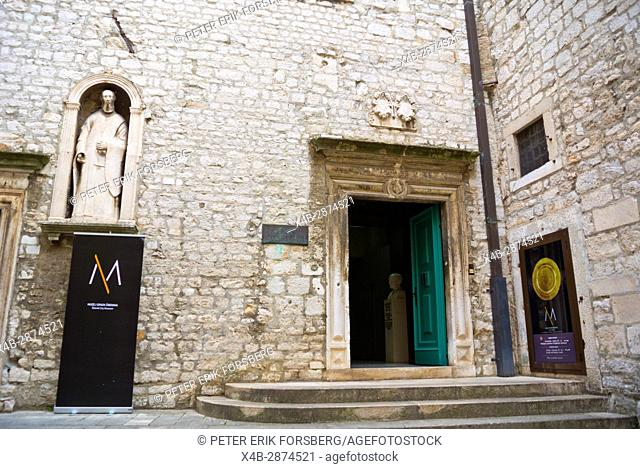 Muzej Grada, Sibenik town history museum, old town, Sibenik, Dalmatia, Croatia