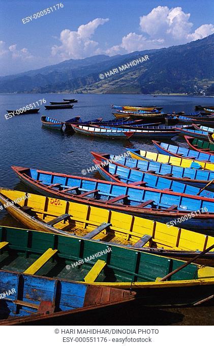 Phewa lake , Pokhara , Nepal