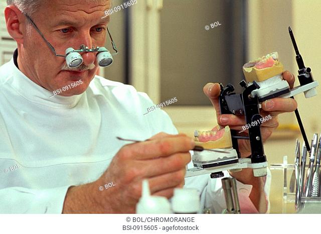 DENTURE FITTER<BR>Worldwide distribution except for United Kingdom and Germany