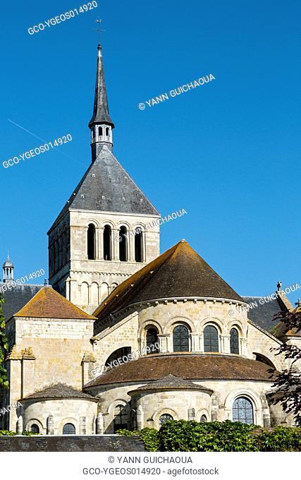 Abbey Of Fleury, Saint Benoit Sur Loire, Loiret, Centre, France