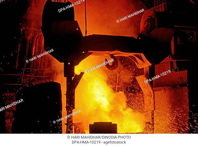 Steel plant in India