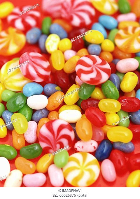 Jellybeans and candies