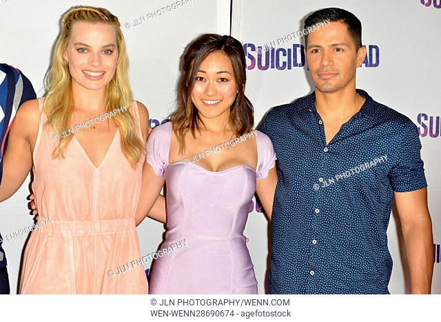 'Suicide Squad' Wynwood Block Party and Mural Reveal in Miami, Florida Featuring: Margot Robbie, Karen Fukuhara, Jay Hernandez Where: Miami, Florida