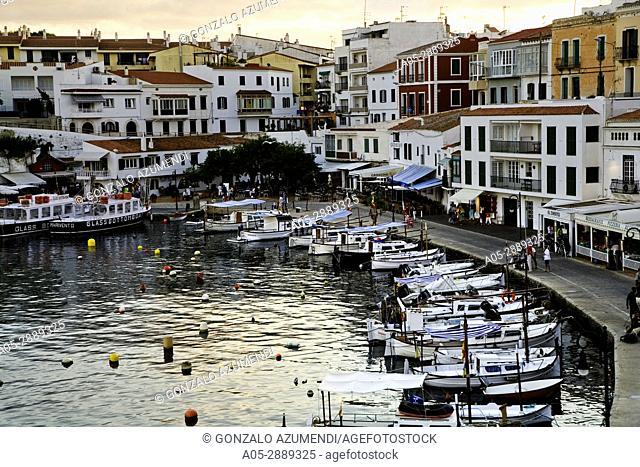 Cales Font. Es Castell. Villacarlos Municipality , Minorca, Balearic Islands, Spain