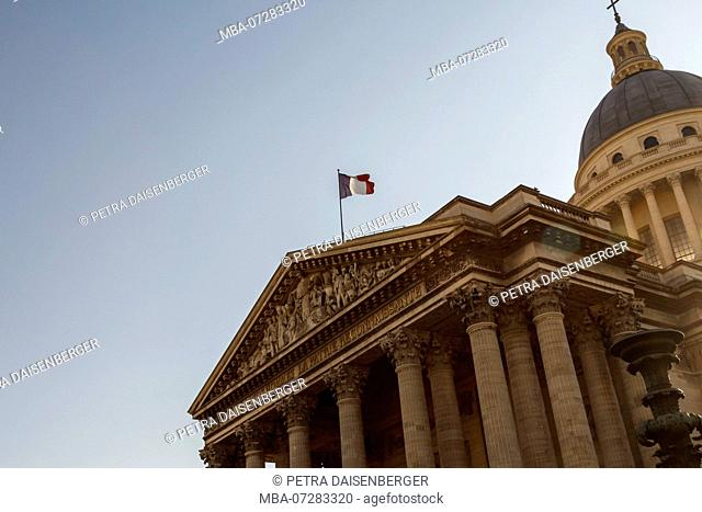France Hall of Fame, the Pantheon in the 5th arrondissement in Paris, France, Europe
