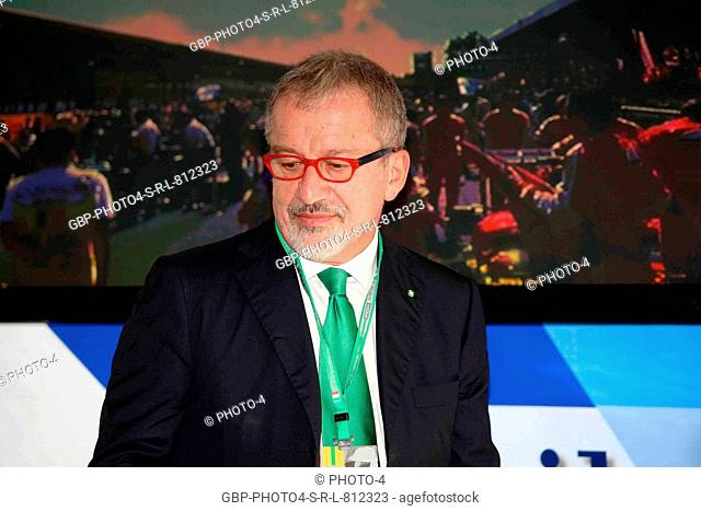 02.09.2016 - Aci finalize Monza agreement with FOM, President and CEO of FOM, Roberto Maroni (ITA) Lombardia Region President