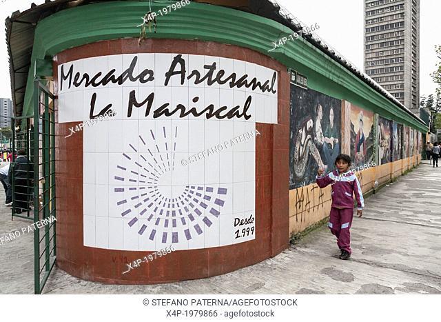 Mercado Artesanal La Mariscal, Quito, New City, Ecuador