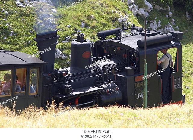 Schneebergbahn - steam engine