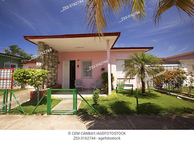 Rooms of the houses with garden and terrace for rent, called Casa Particular on Punta Gorda district, Cienfuegos, Cienfuegos Province, Cuba, Central America