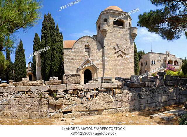 The Filerimos Monastery Island of Rhodes Greece