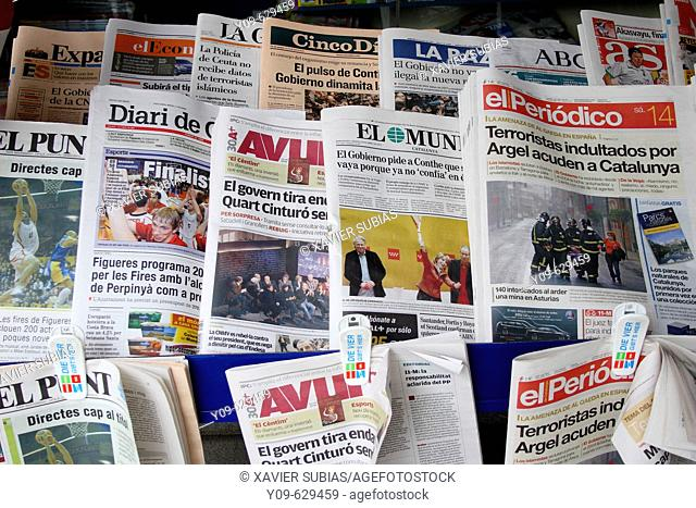 Catalan newspapers