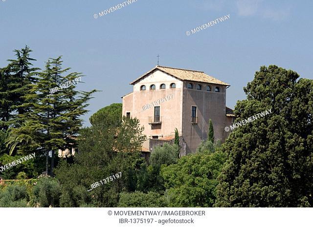 Church of San Bonaventura al Palatino, Palatine Hill, Rome, Italy, Europe