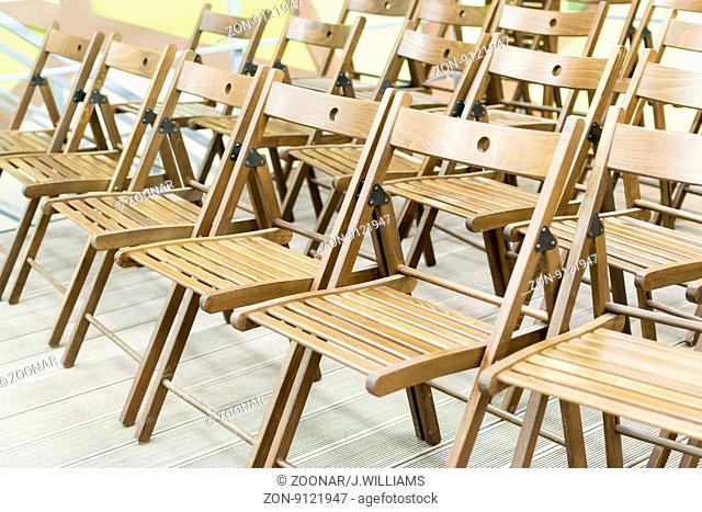 Wooden Conference Chairs