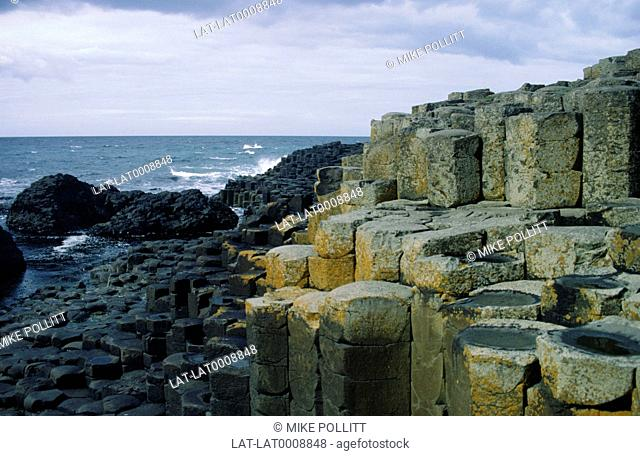 Giants Causeway,a Site of Scientific and Geological Interest