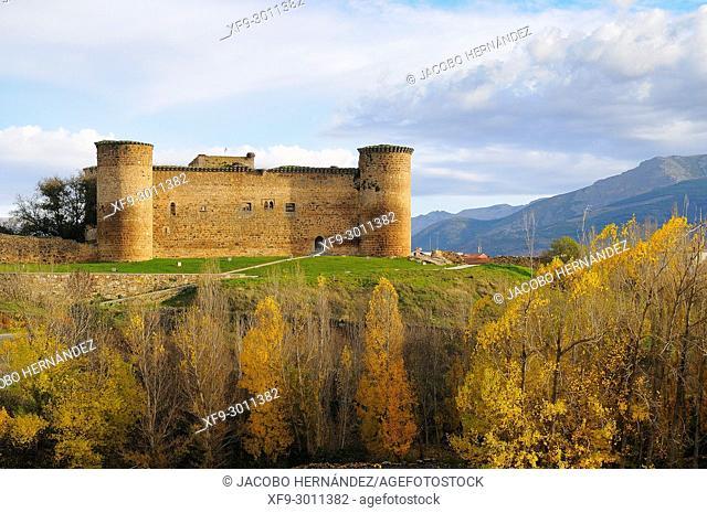 Castle of Valdecorneja . El Barco de Ávila. Ávila province. Castilla y León. Spain