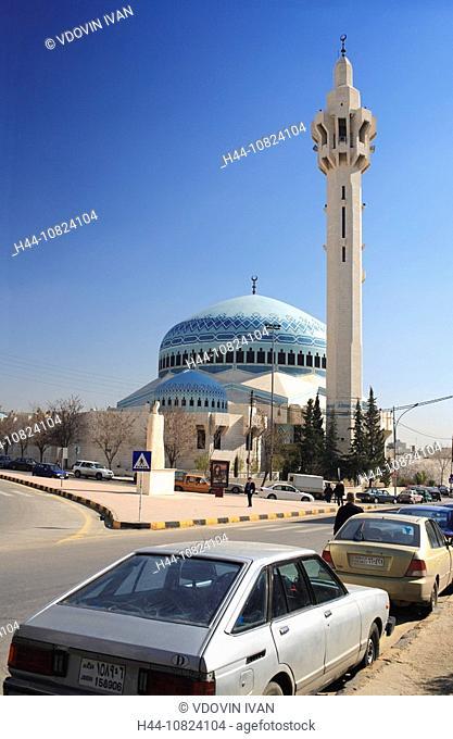 King Abdalah I Mosque 1982 1989 Abdullah Amman