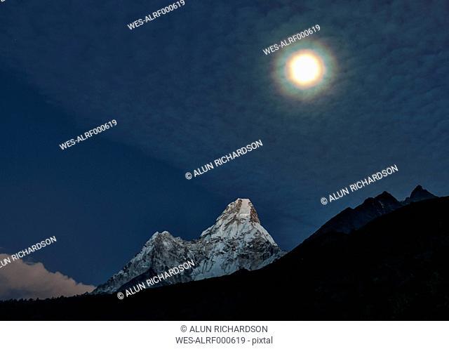Nepal, Himalaya, Solo Khumbu, Ama Dablam