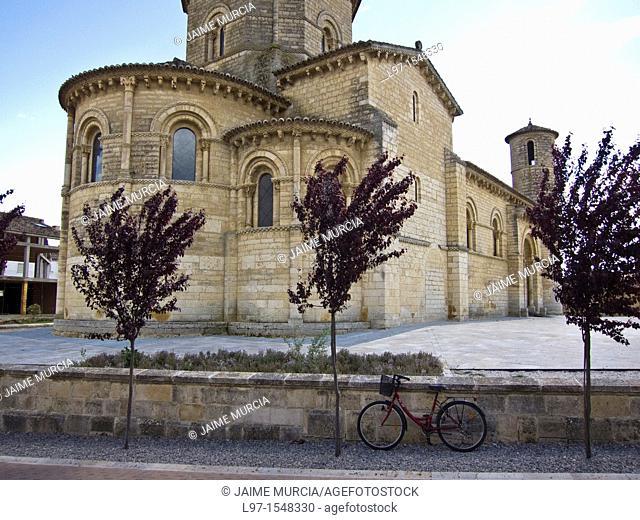 Iglesia de San Martin in the town of Fromista along the Camino de Santiago