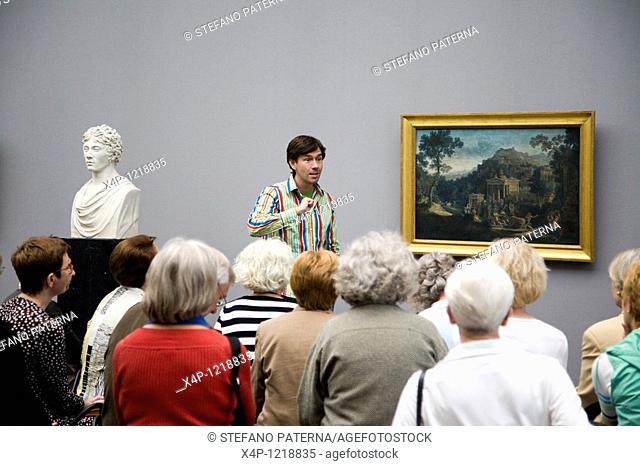 Guided Tour, Alte Nationalgalerie, Berlin, Germany