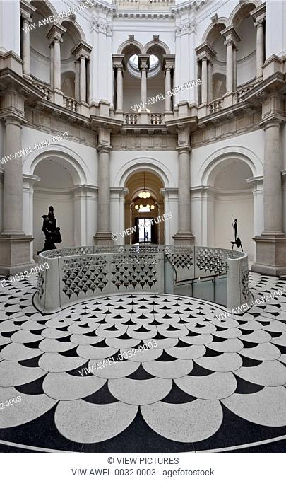 Caruso St John were appointed as architects for Tate Britain in 2007. The long-term commission involves the development of a mas