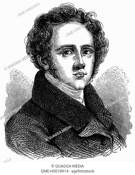 Vincenzo Bellini (3 November 1801 – 23 September 1835), Italian opera composer