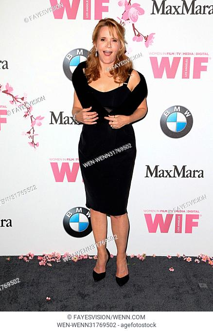 Women In Film 2017 Crystal + Lucy Awards® presented by Max Mara and BMW Featuring: Lea Thompson Where: Beverly Hills, California