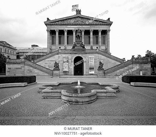 Old National Gallery, Berlin, Germany