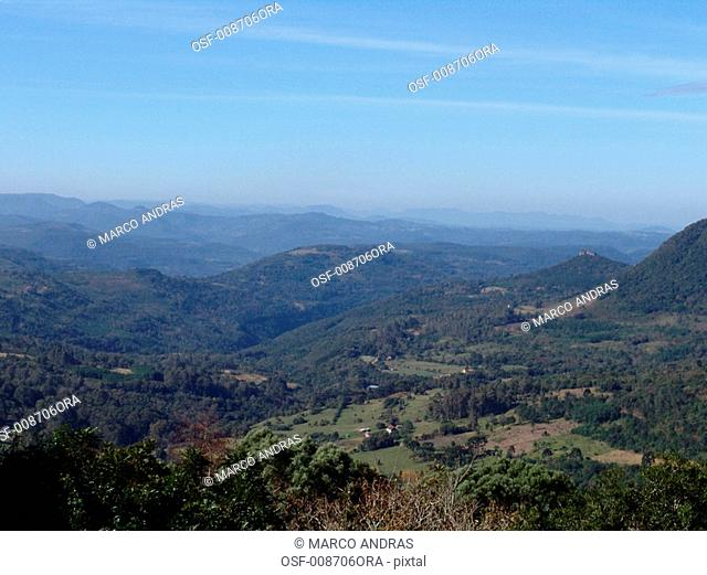 natural green vegetation mountains