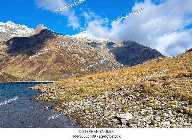 Switzerland, Ticino Tessin, Val du Blenio, Passo del Lucomagno