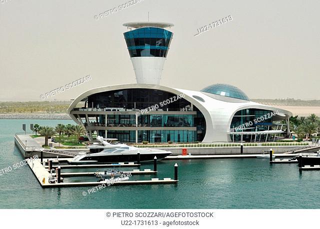 Abu Dhabi, United Arab Emirates: Cipiani's Restaurant, at Yas Marina