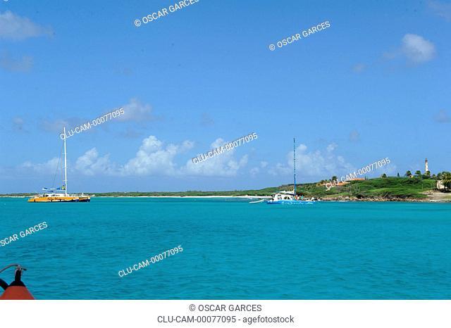 California Lighthouse, Aruba, Oranjestad, Lesser Antilles, Central America