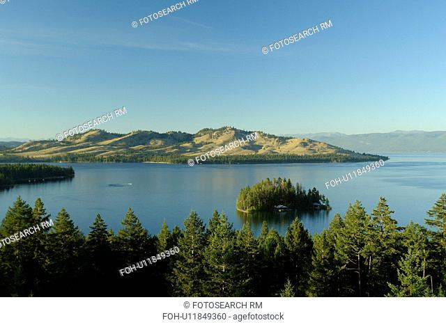 Big Arm, MT, Montana, Flathead Indian Reservation, Mission Valley, Flathead Lake