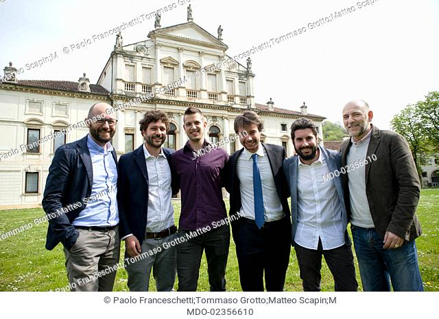 Paolo Franceschetti (Solwa), Tommaso Grotto e Matteo Scapin (Kopjra), Michele Lorenzi (Develon), Marco Lotito (Wcap) and Jacopo Pertile (Talent Garden)...