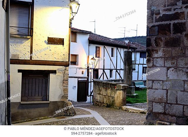 Street of Covarrubias, Burgos, Spain